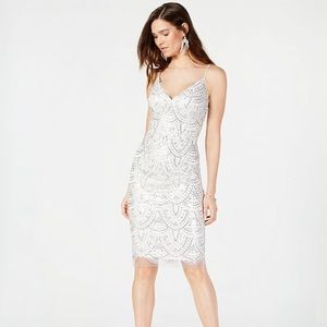 VINCE CAMUTO Sequin Embroidered Sheath Dress NWT